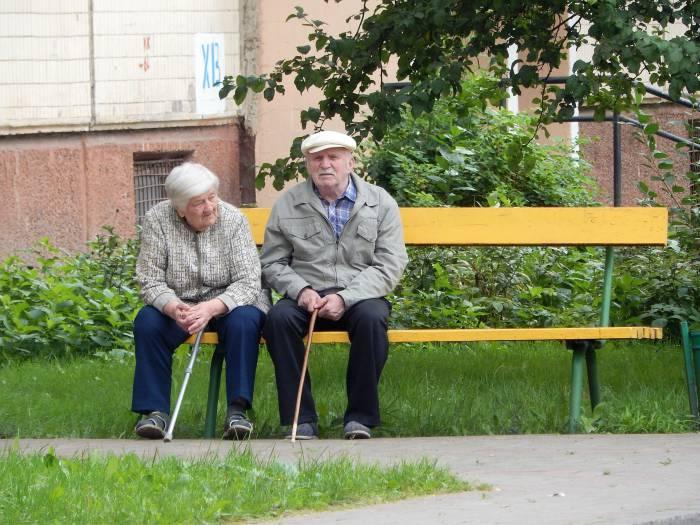 Пенсионеры СССР